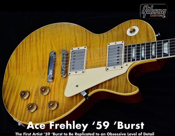 Gibson Custom Shop Ace Frehley '59 Les Paul Standard Only 250 being MADE! CSAF59VFBNH