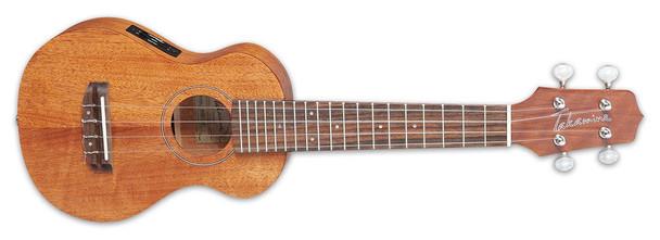 Takamine EGU-S1 Mahogany Acoustic-Electric Ukulele Natural