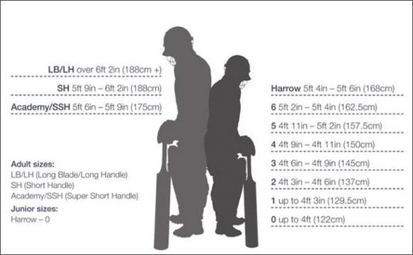Bat Size Chart