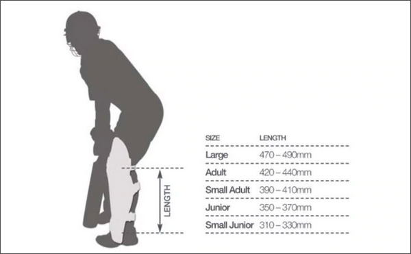 Pads Size Chart