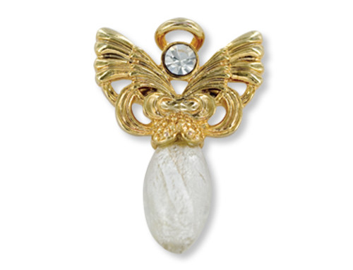 Believe Angel Pin
