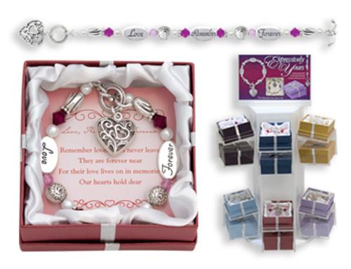 Love Remember Forever Expression Boxed Bracelet
