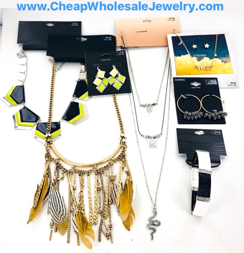 Target Store Jewelry Lot - 50 Piece