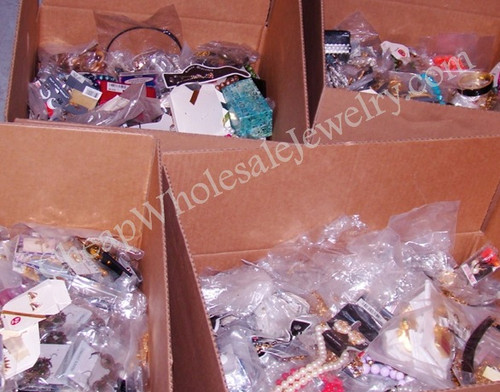 30LB Treasure Box of Jewelry Findings, Etc