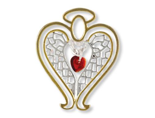Healing Angel Pin