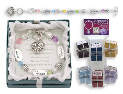 Love Friend Forever Expression Boxed Bracelet