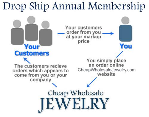 Drop-ship Annual Wholesale Jewelry Club Membership