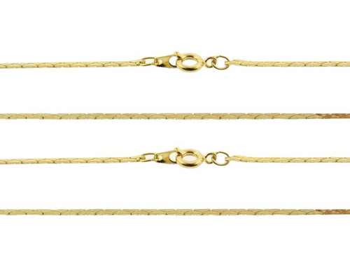 260 Cobra Chain : Gold : 18 inch : Price Per Gross