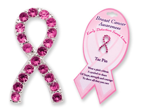 Breast Cancer Awareness Tac Pin