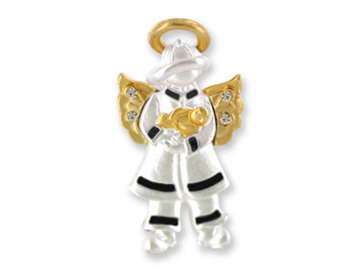 Angel For A Special Fire Fighter Pin