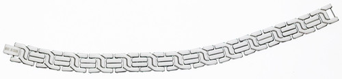 Stainless Steel Bracelet : Gridlocked