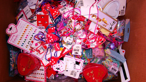 30LB Kids' Treasure Box of Jewelry Findings, Etc