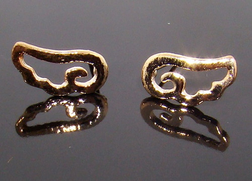 Wholesale Cut Out Angel Wing Earrings