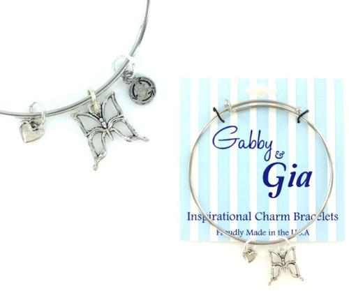 Gabby & Gia Bracelet - Cut Out Butterfly