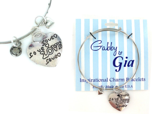 Gabby & Gia Bracelet - Lots of Love
