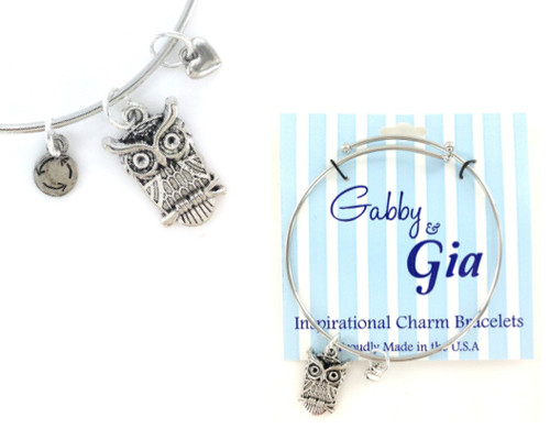 Gabby & Gia Bracelet - Owl