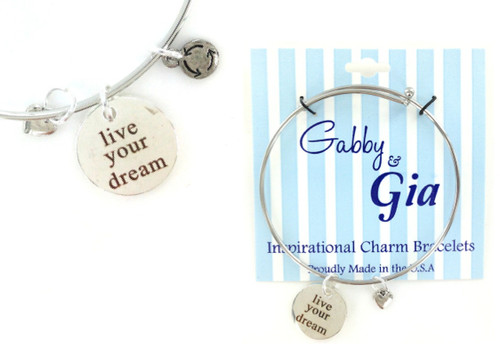Gabby & Gia Bracelet - Live Your Dream