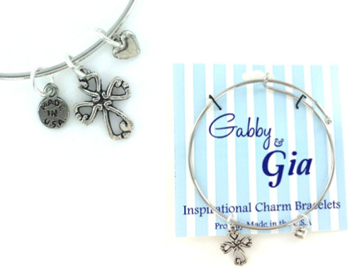Gabby & Gia Bracelet - Cross