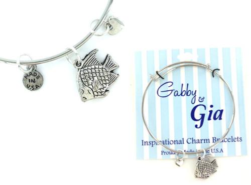 Gabby & Gia Bracelet - Angel Fish