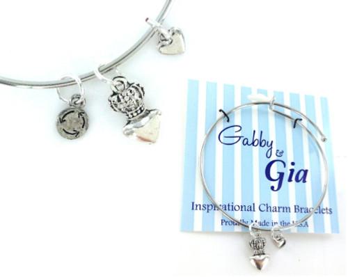 Gabby & Gia Bracelet - Queen of Hearts