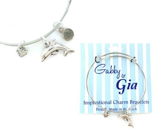 Gabby & Gia Bracelet - Dolphin