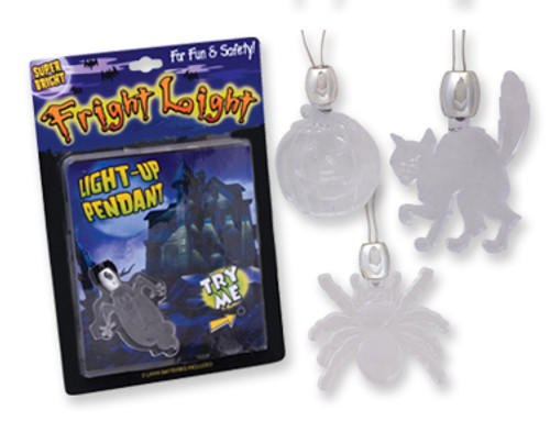 Halloween Fright Light - LED Necklace