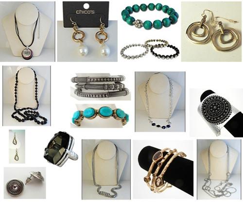 Wholesale Chico's Jewelry Lot - 25 Piece