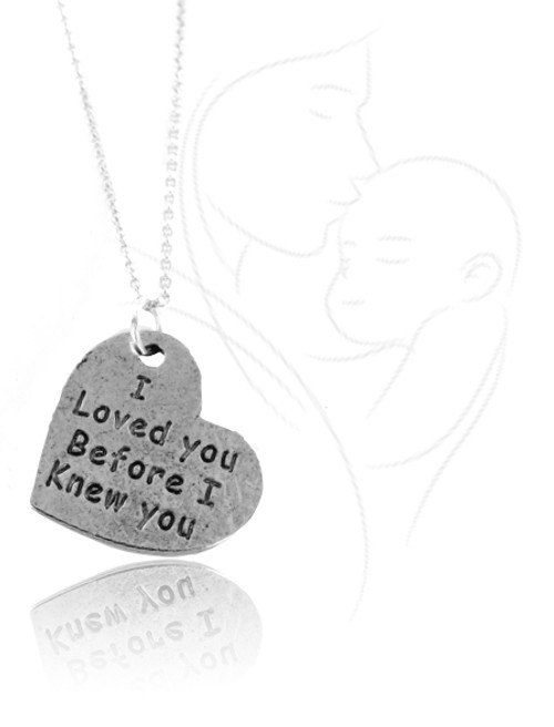 I Loved You Before I Knew You Necklace