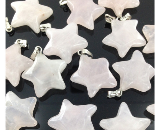 Gemstone Star Pendants by the Dozen