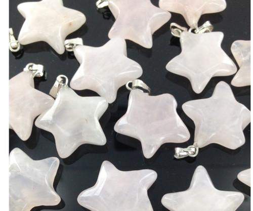 Gemstone Star Pendants by the Dozen