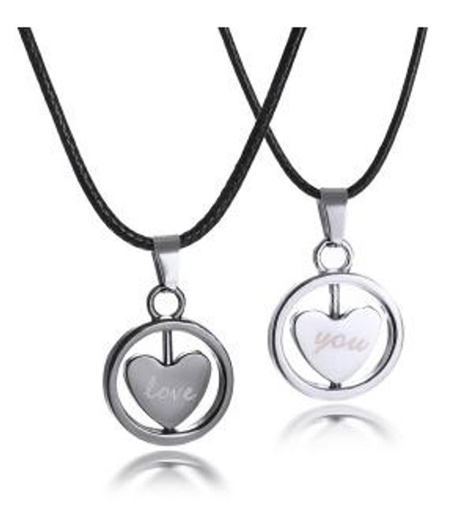 Couples Necklaces - Love You