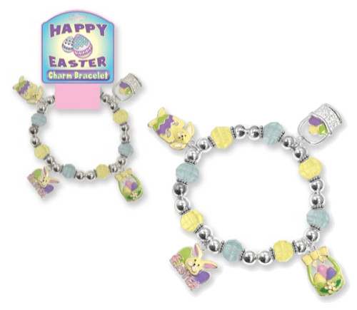 Happy Easter Charm Bracelet