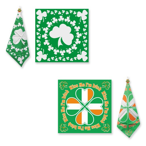 St Patty's Theme Bandanas