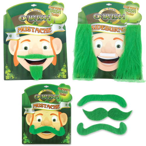Touch O' Irish Fun Mustaches