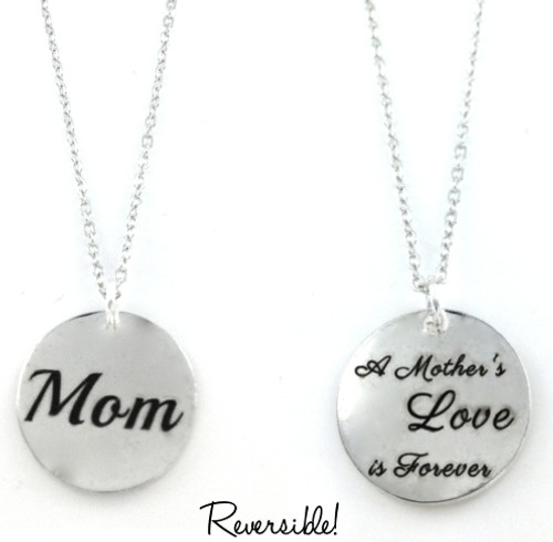 Silver Plated Heart Charm For Bracelets Mother/'s Day Beads I Love You My Mom