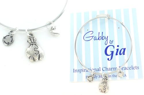 Gabby & Gia Bracelet - Miss Money Bags
