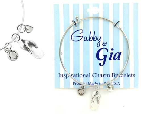 Gabby & Gia Bracelet - Flip Flop