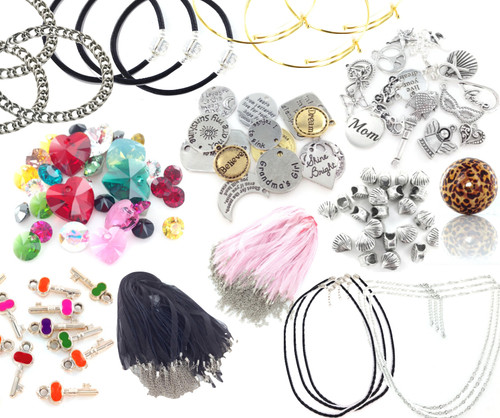 96+ Piece Jewelry Makers Lot