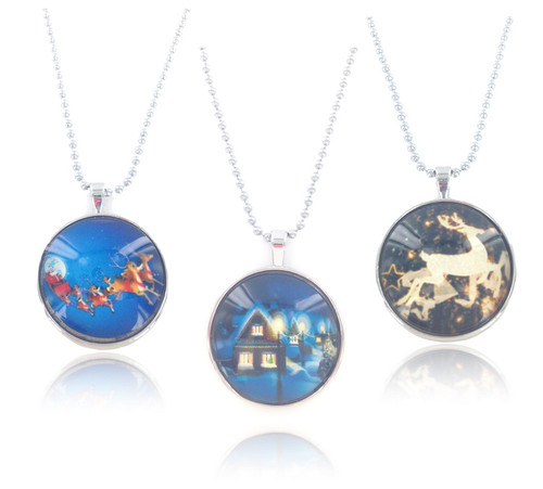 Wholesale Holiday Bubble Necklaces