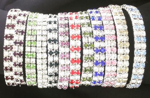 Crystal Birthstone Stretch Bracelets