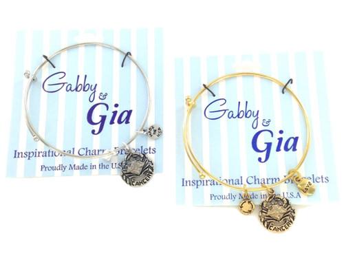 Gabby & Gia Bracelet - Cancer