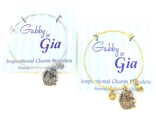 Gabby & Gia Bracelet - Scorpio
