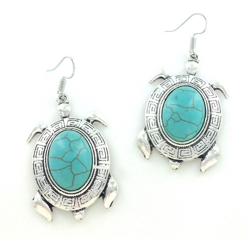 Turquoise Sea Turtle Earrings at Wholesale