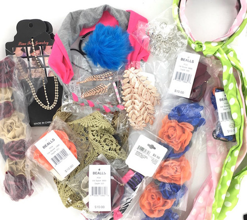 Hair Accessories Bulk Lot - 100 Pieces