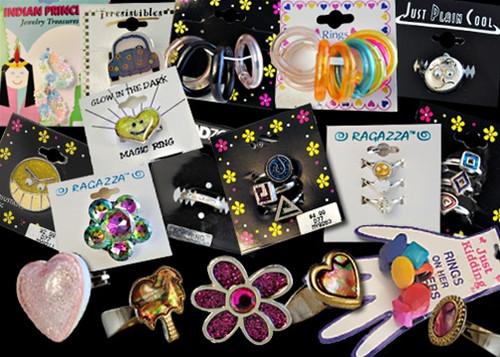 Wholesale Kids Ring Assortment - 12 Pieces