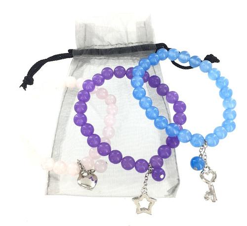 3 Piece Wholesale Quartz Bracelet Gift Set