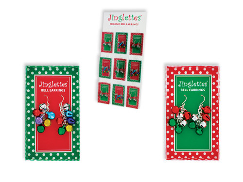 Wholesale Jinglettes Boxed Earrings