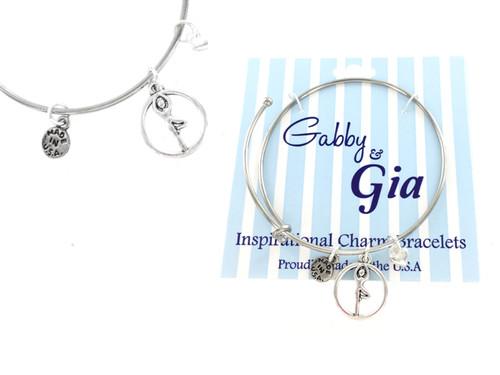 Gabby & Gia Bracelet - Yoga Tree Pose