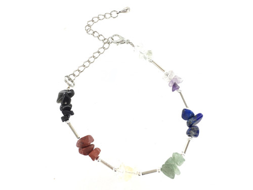 Wholesale Gemstone Chip Bracelet