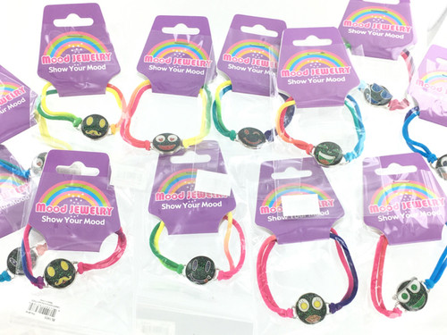 Wholesale Emoji Mood Bracelets by the Dozen